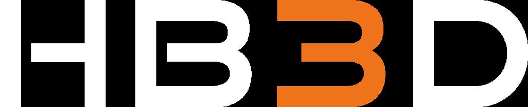 Logo HB3D white